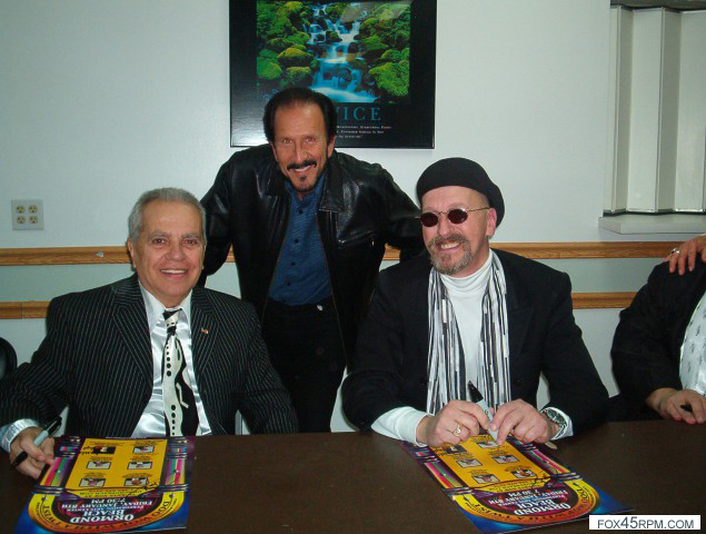 Joey (Peppermint Twist) Dee & Steve Horn from The Legends of Doo-Wop – Ormond Beach, FL (2010)